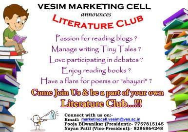 Poster-Literature Club