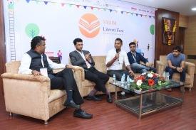 From left to right: Ghanshyam Dholakia, Kailash Nath, Jatin Chaudhary, Akshaye Rathi and Amit Panchal